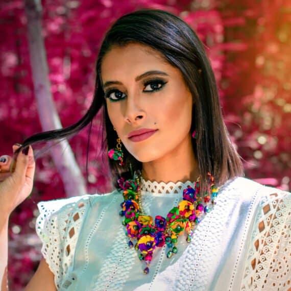 Collar Mexicano Artesanal de Palma