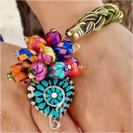 pulseras artesanales mexicanas