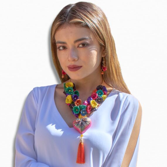 Ingrid - Collar de Bisuteria Artesanal Hecho a Mano